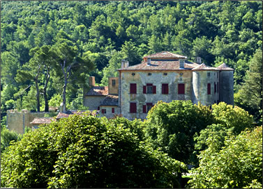 Picasso's Chateau de Vauvenargues, Provence, France.