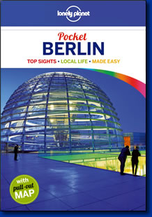Lonely Planet's guidebook, Pocket Berlin.