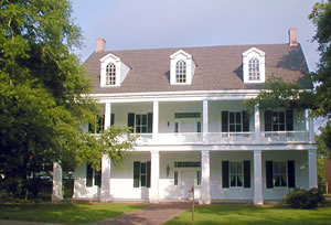 Louisiana house is example of Creole heritage construction.