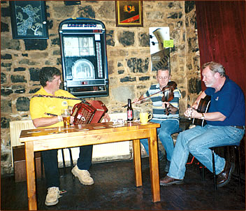 Irish culture and music in County Kerry, Ireland.
