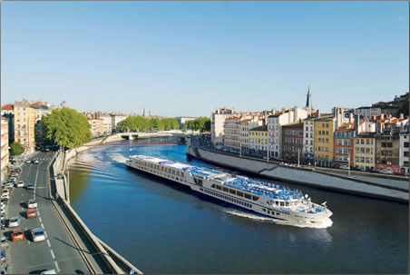 Step aboard a Uniworld river cruise in the south of France and sail north towards Paris for one week.