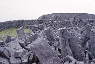 The Rock Fort, Dun Aengus, Inishmore, Aran Islands, Ireland.