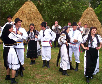 Country cultural holidays in Romania may include a wheat festival celebration.