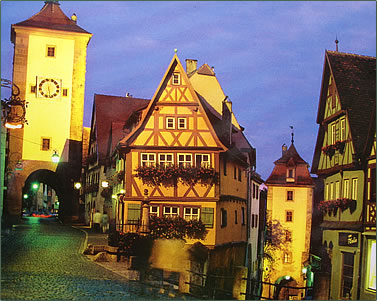 Rothenburg is on the route of a 12-day river cruise from Amsterdam to Vienna using the world's most modern locks.