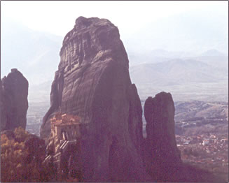 Monasteries of Meteora make an exciting Greek cultural vacation.