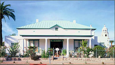 Royal Elizabeth Bed and Breakfast Inn is one of Tucson, Arizona's most historic accommodations.