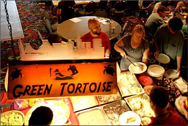 Green Tortois Hostel, San Francisco, Best Hostels for Food.