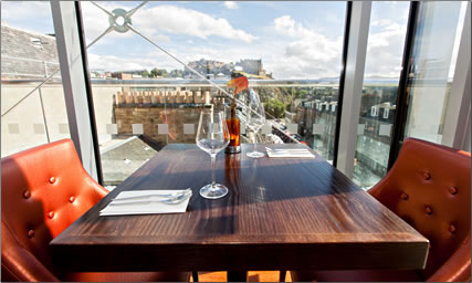 Eight British Restaurants: Delicious Food with a View to Match, Chaophraya, Edinburgh, Scotland.