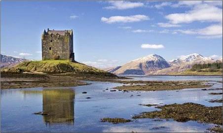 Eight British restaurants spectacular views, The Airds Restaurant, west of Scotland.