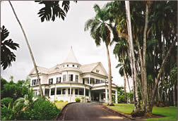 Shipman House is restored historical accommodation for visitors to Hilo, Hawaii