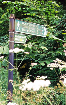 Walking vacations in Great Britain Cotswold region.