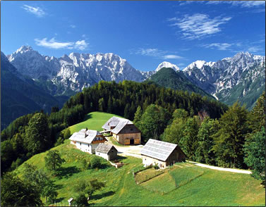 A farm stay holiday in Slovenia.