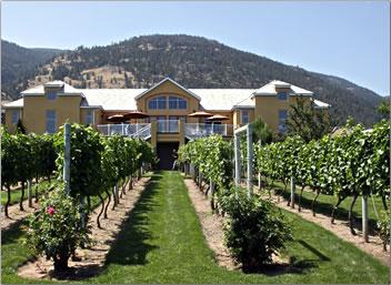 Tinhorn Creek Vineyards: Okanagan Valley tourism outdoors, British Columbia active outdoors travel.