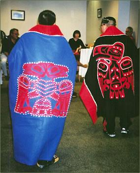 Native dance performances demonstrate cultural heritage in Juneau, Alaska.