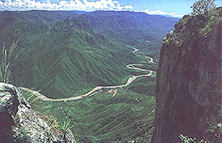 Mexico Copper Canyon geology, nature pictures, rail travel.
