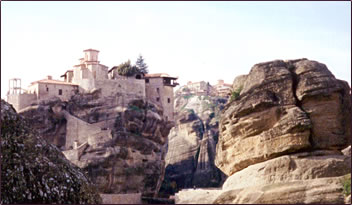 Walking between Meteora's monasteries is a good walking tour.