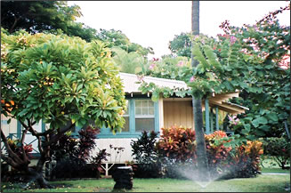Waimea Plantation Cottages offer self-catering plantation worker homes to visitors on vacation.