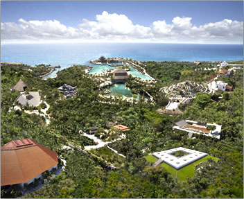 Xcaret, Riviera Maya, Yucatan Peninsula, Mexico.