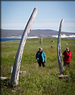 Whale Bone Alley on Yitygran Island in the Bering Sea.