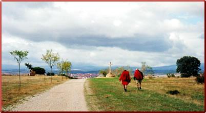 Camino de Santiago women walking holidays, Santiago de Compostela pilgrimage walk.