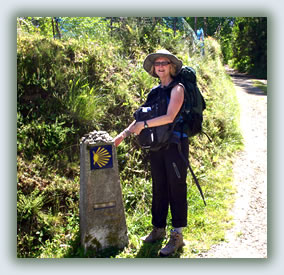 Susan Copeland, author of Finding the Waymarkers, spiritual travel to pilgrimage destinations.