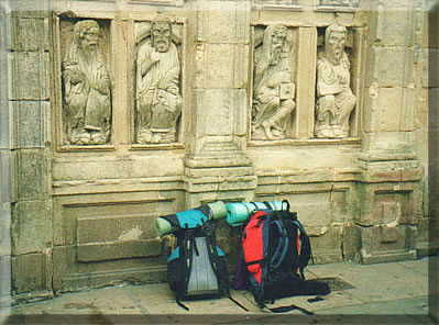 Walking to Santiago de Compostela, Robert Ward's book, All the Good Pilgrims.