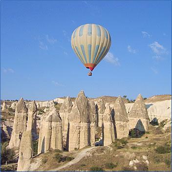 Kapadokya Balloons Goreme, seniors travel in Turkey.