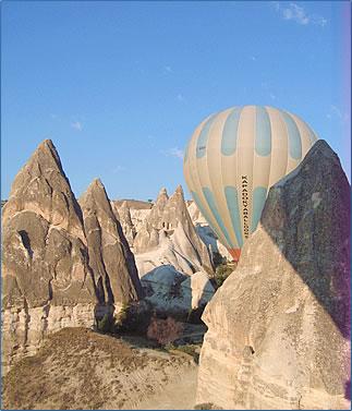 Kapadokya Balloons Goreme, seniors travel in Turkey, nature travel in Turkey.