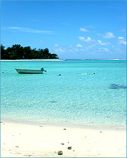 Fine sand beaches and coral reefs are part of Rarotonga, Cook Islands vacations.