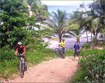 Trinidad Adventures: nature exploration, biking, hiking and kayaking.