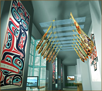 Aboriginal art gallery in Vancouver, Bill Reid Haida artist.