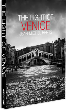 Book cover: The Light of Venice by Jean-Michel Berts.