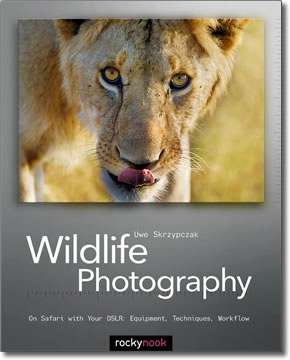 Cover of Wildlife Photography book by Uwe Skrzypczak.