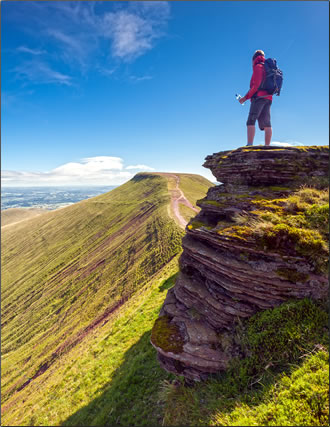 Wales nature walks and hikes.