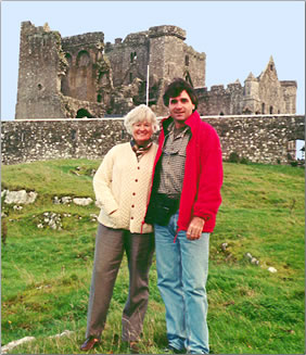 Mother and son travel in Ireland: Multi-generational journeys.