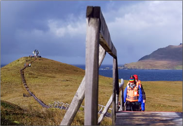"""Cape Horn National Park is nicknamed """"The End of the Earth""""."""