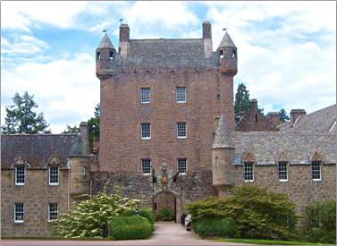 Cawdor Castle, Scottish Highlands, clan history.
