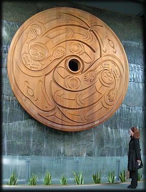 Aboriginal Art Airport Vancouver, Make airports more fun and beautiful.