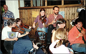 Scottish culture includes traditional music.