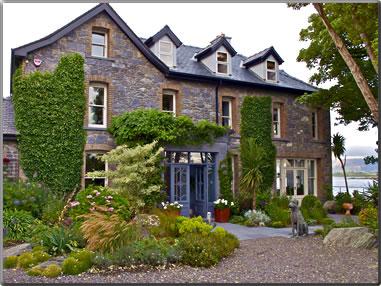 Stone house in Connemara, Ireland.