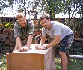 Carpentry work and marine mammal conservation help environmental projects on a Cook Islands volunteer vacation.