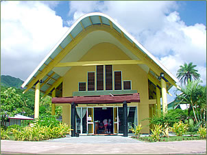 Library projects are a Global Volunteers assignment in the Cook Islands.