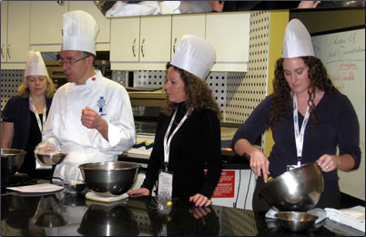 Ottawa's Cordon Bleu Cooking School offers short cooking classes for vacationers.