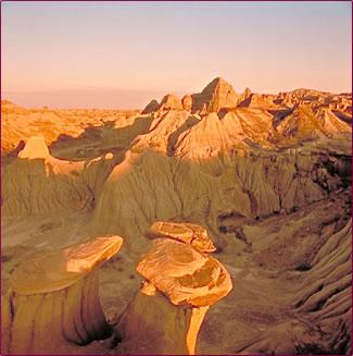 Alberta's Dinosaur Provincial Park UNESCO World Heritage Site.