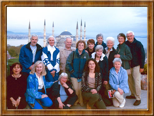 ElderTreks group on cultural tour of Turkey