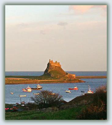 Pilgrimage travel today, Holy Island of Lindisfarne, England.