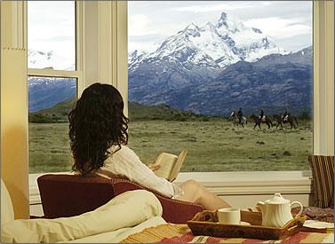 Estancia Cristina in Los Glaciares National Park, Patagonia.