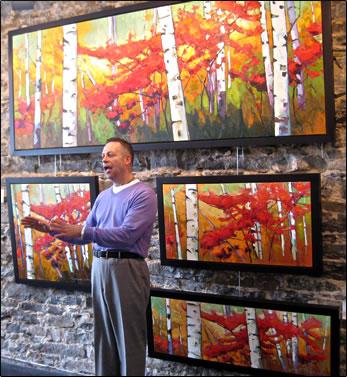 Gordon Harrison Canadian Landscapes Gallery in Ottawa, Canada.