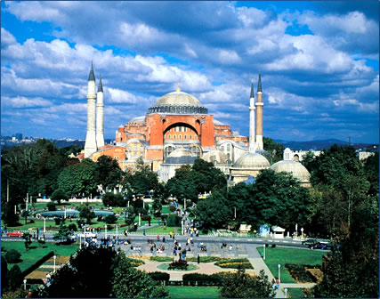 Hagia Sophia, Istanbul, Turkey: Cultural Tourism in the Historic Queen of Cities.