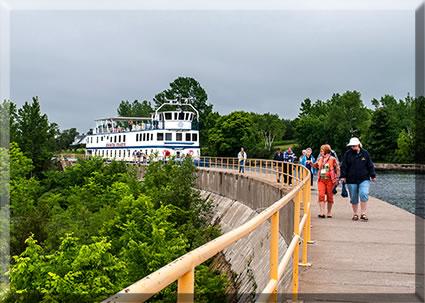 Ontario heritage small-ship lake cruises.